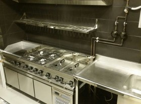 Instalación de cocina industrial